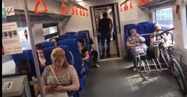 En Rusia Los Trenes Permiten Llevar Bicicletas Tren Rusia Bus