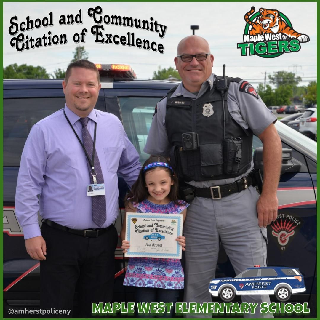 [AMHERST POLICE, NY] Maple West Elementary School