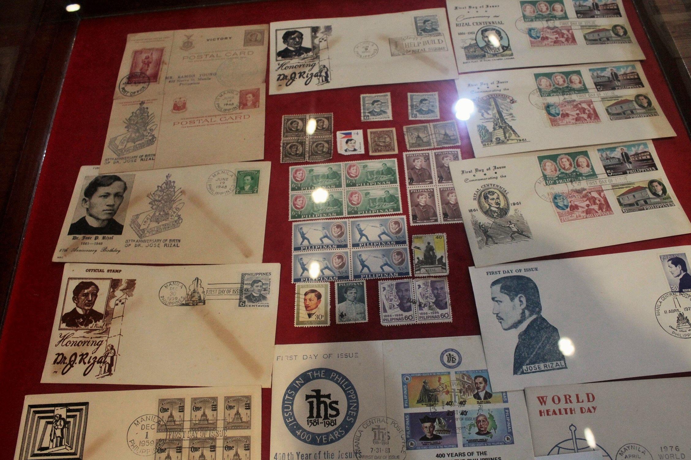 Sellos y postales de José Rizal, el héroe nacional