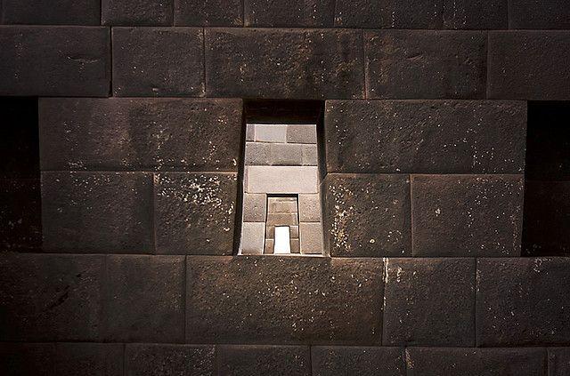 Incan stone walls at Qorikancha, Temple of the Sun by lightmatter, via Flickr