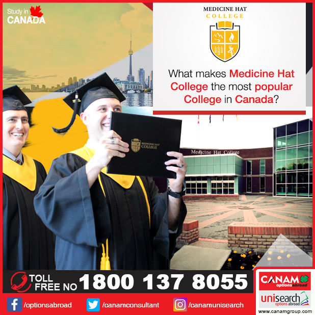 Looking for an ideal college in #Canada offering excellent