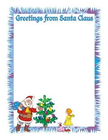 Free Printable Letters From Santa  Documento Sin Ttulo