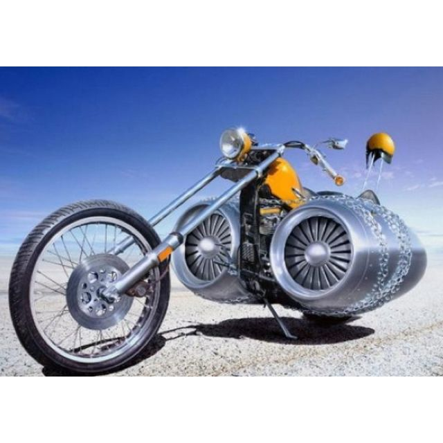 Reactorbike! How much it can get that gear??woo..hoo!