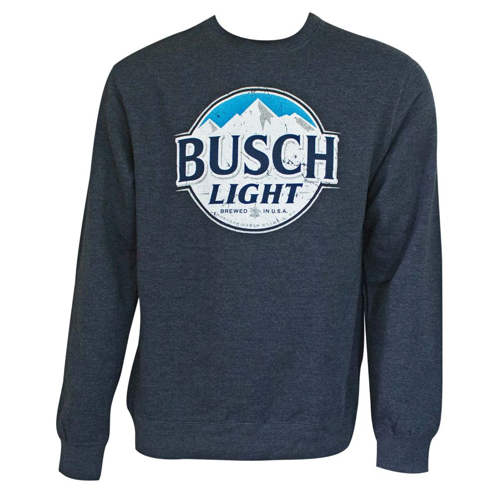 Busch Light Men S Navy Blue Crewneck Sweatshirt Sweatshirts Crew Neck Sweatshirt Navy Crewneck [ 1000 x 1000 Pixel ]