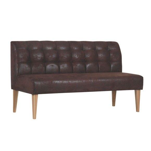 Zweisitzer Sofa Lederlook Dunkelbraun In 2019 Wish List For The
