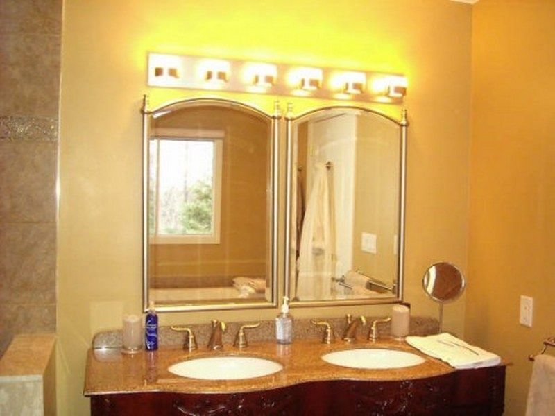 Bathroom Light Fixture Warm Lighting Design