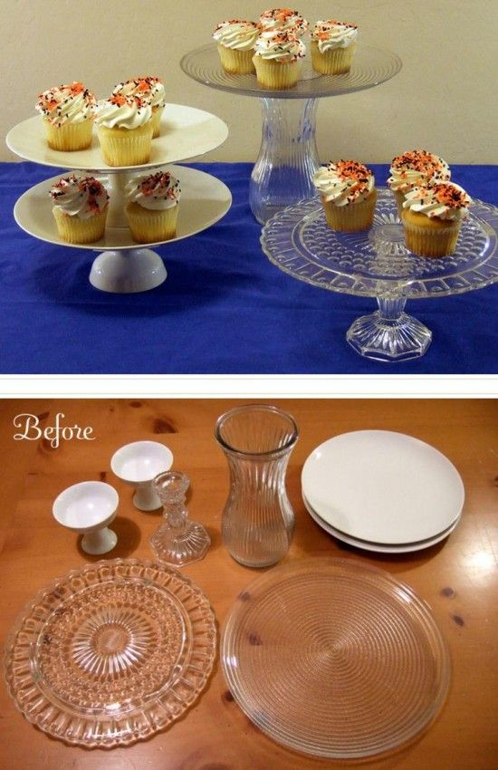 How To Make A Plate Cake Stand Easily At Home The Whoot Diy Cake Plate Stand Cake Plates Diy Diy Cake Stand
