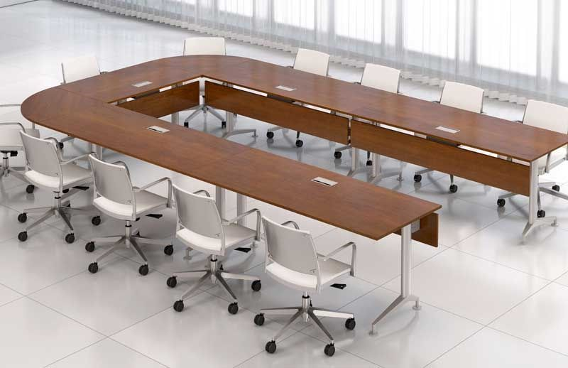 Conference Room Tables Glass Wood Modular Table Conference Room Design Modern Conference Table