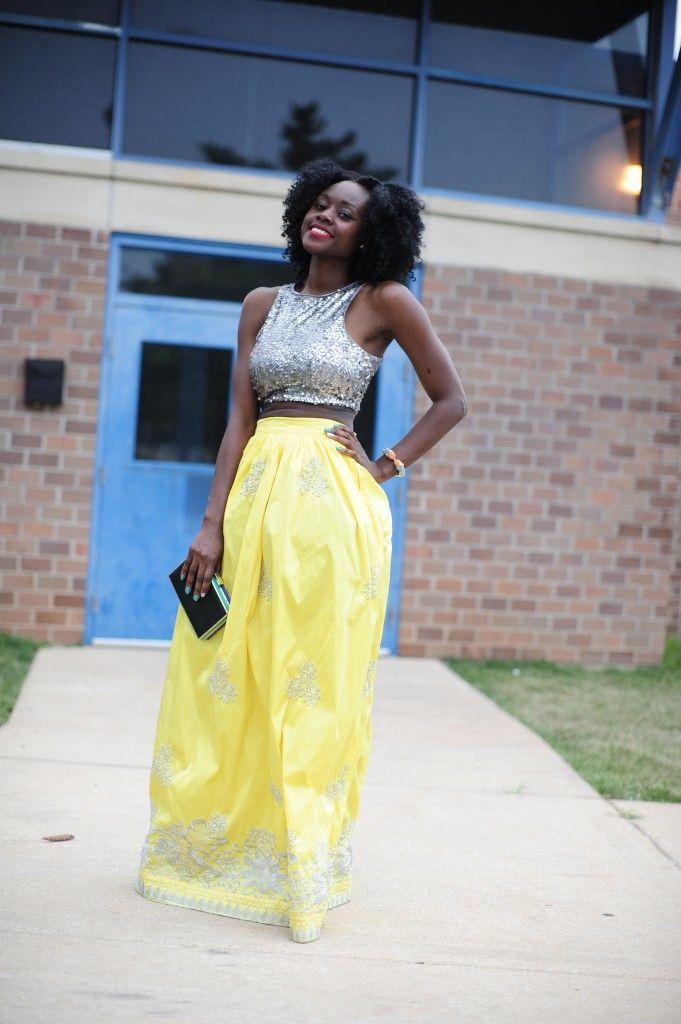 Full Yellow skirt – SkinnyHipster Street Style. #Africanfashion #AfricanClothing #Africanprints #Ethnicprints #Africangirls #africanTradition #BeautifulAfricanGirls #AfricanStyle #AfricanBeads #Gele #Kente #Ankara #Nigerianfashion #Ghanaianfashion #Kenyanfashion #Burundifashion #senegalesefashion #Swahilifashion DK