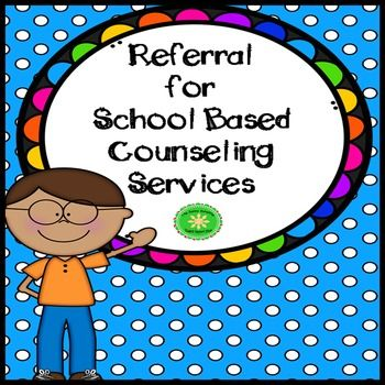 FREE!!! A simple referral form for staff to complete to refer - referral form