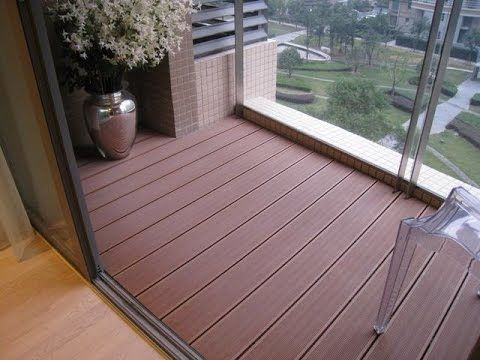 2nd Floor Balcony Decking Ideas Plastic Flooring Wood Plastic