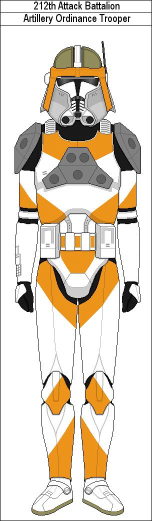 212th Artillery Ordinance Trooper By Marcusstarkiller Star Wars Trooper Star Wars Images Clone Trooper Armor
