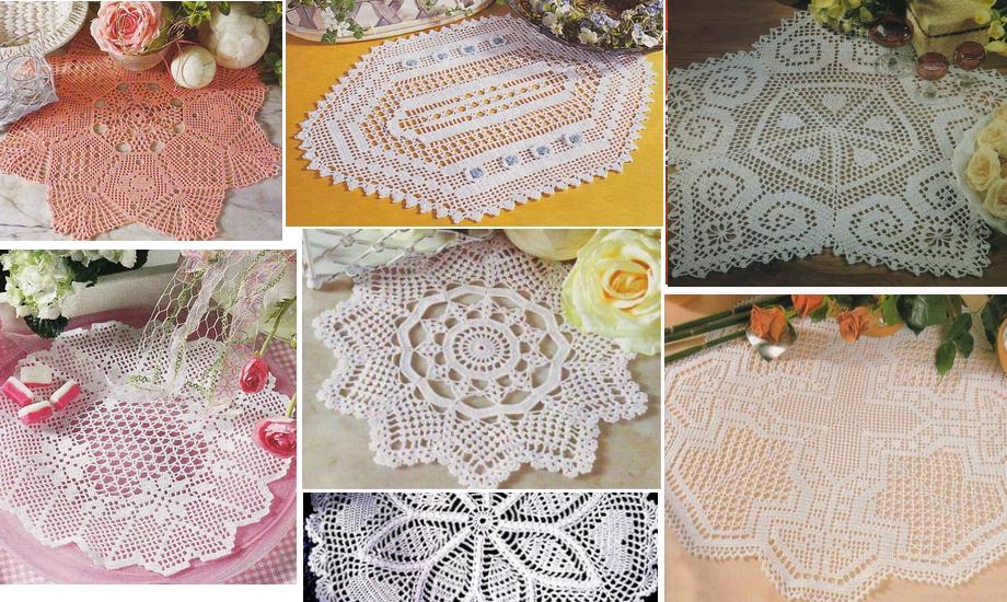 18 patrones maravillosos de centros de mesa en ganchillo   Crochet ...