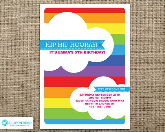 rainbow party invitations templates free koni polycode co