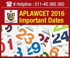 Ap Lawcet Important Dates 2020 Important Dates Dating Exam
