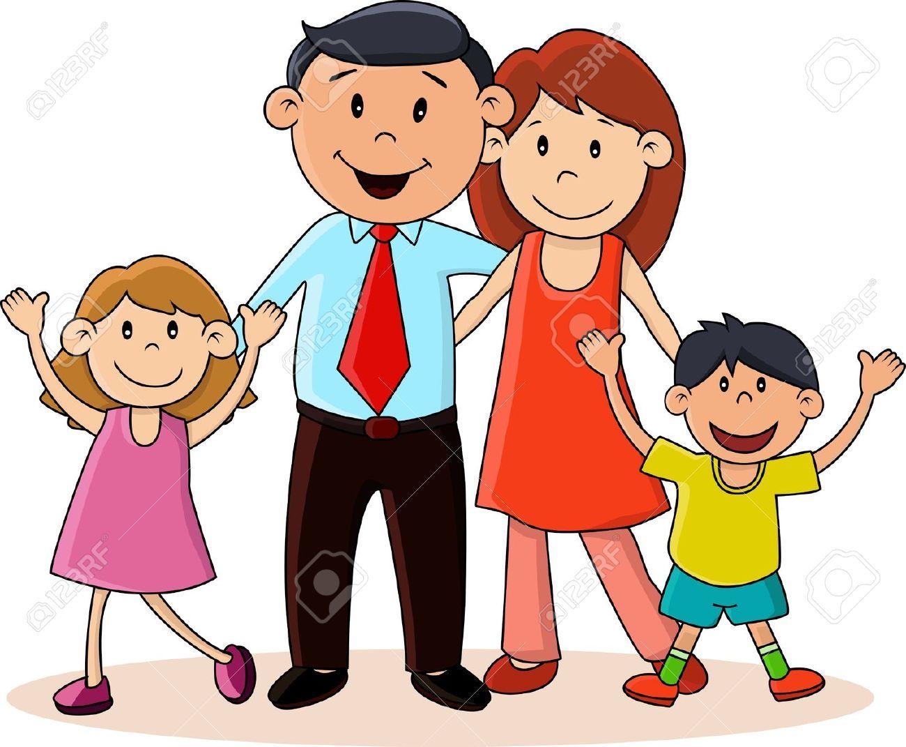 Feliz Personas Exitosas En Caricaturas: Resultado De Imagen Para Imagenes Infantiles De Familias