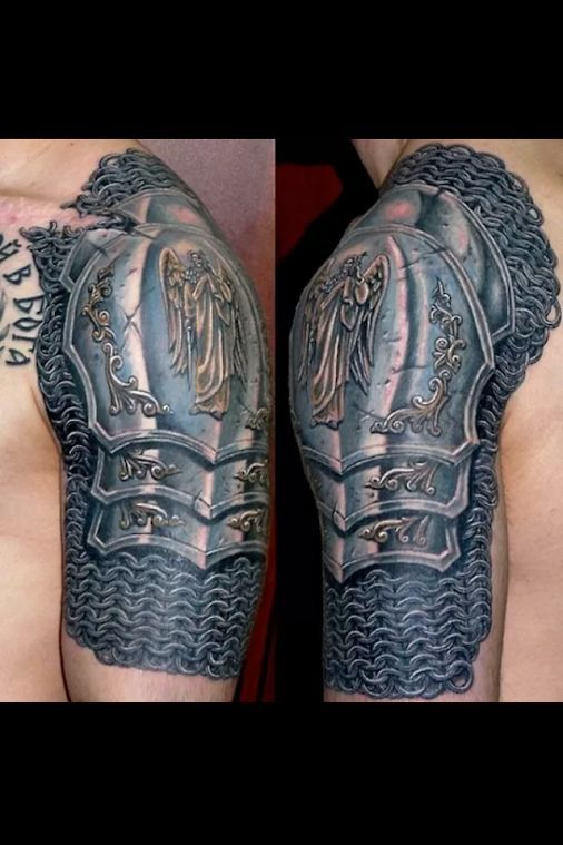 shoulder armor tattoo tattoo 39 s pinterest shoulder armor tattoo armor tattoo and shoulder. Black Bedroom Furniture Sets. Home Design Ideas