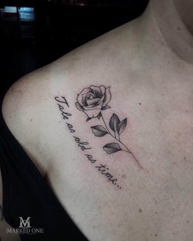 Delicate Girlie Rose Tattoo By Adam Howard At Marked One Tattoo