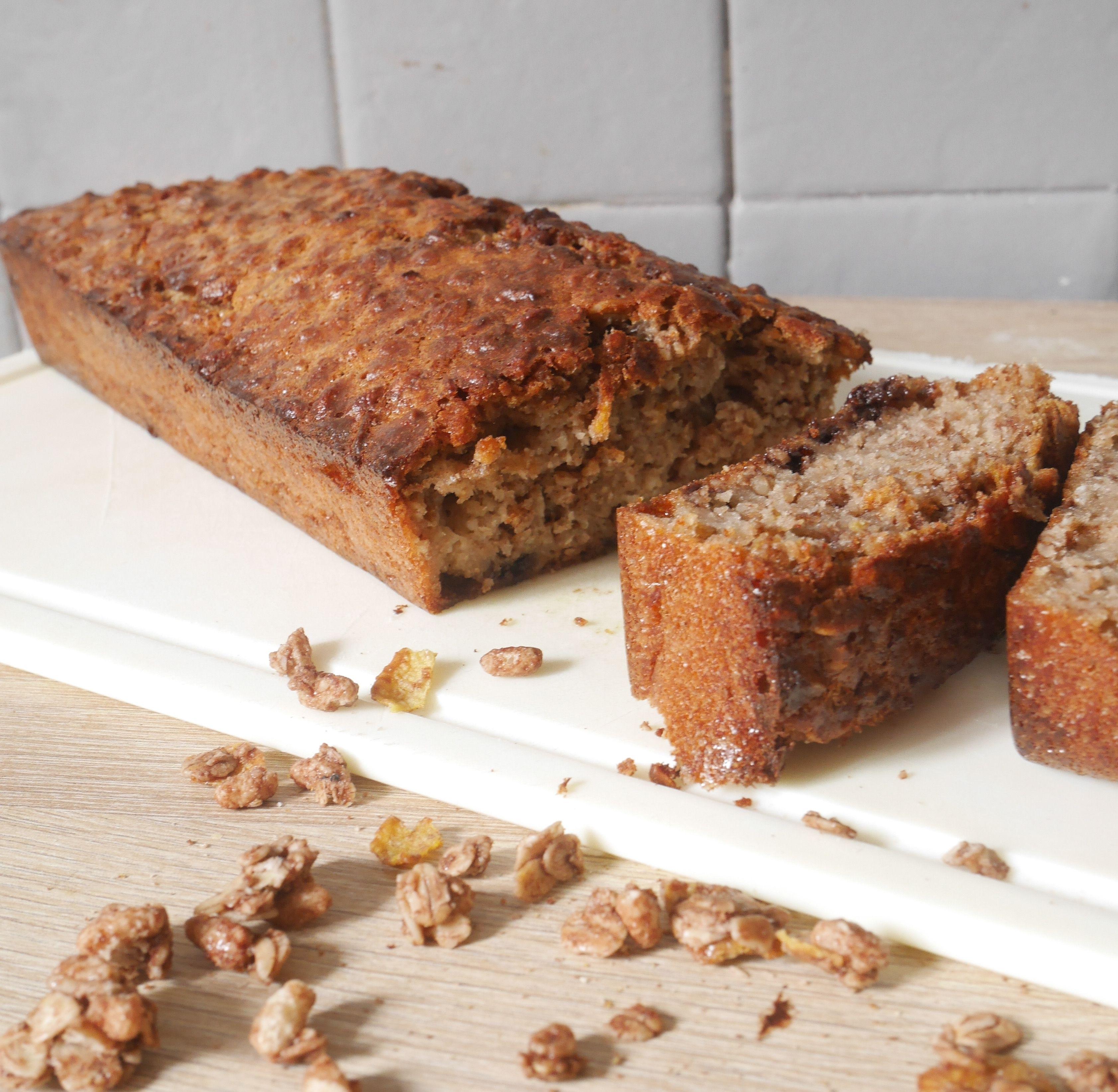cake au muesli et chocolat vegan sans gluten recipe. Black Bedroom Furniture Sets. Home Design Ideas