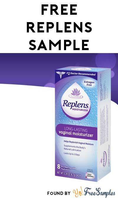 Replens com free sample
