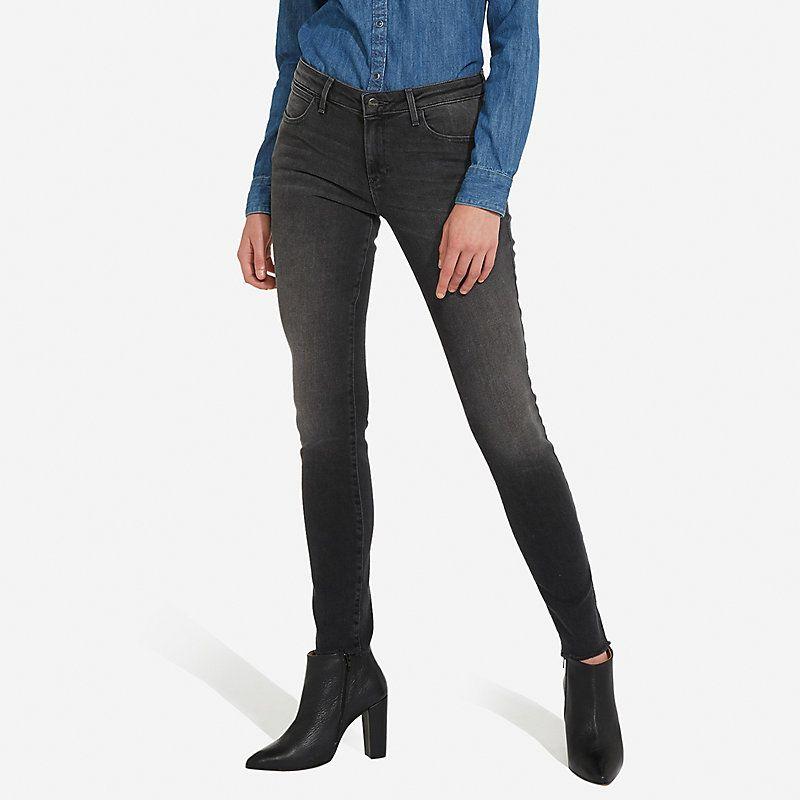 Wrangler Women's Born Ready Skinny Jeans (Size: 28 x 32) Black