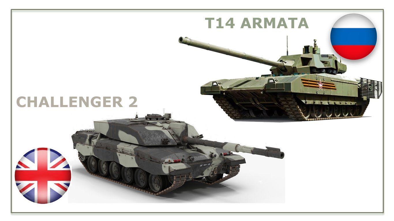 4df0a6c48d5e T-14 ARMATA (Russia) VS CHALLENGER 2 (United Kingdom) Tank Compare ...
