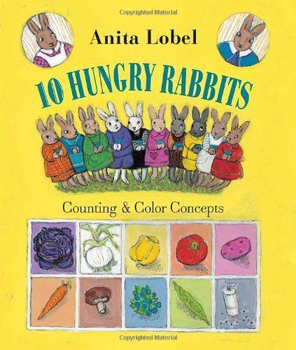 10 Hungry Rabbits: Counting & Color Concepts by Anita Lobel http://www.amazon.com/dp/037586864X/ref=cm_sw_r_pi_dp_MgtBvb19PVMBJ