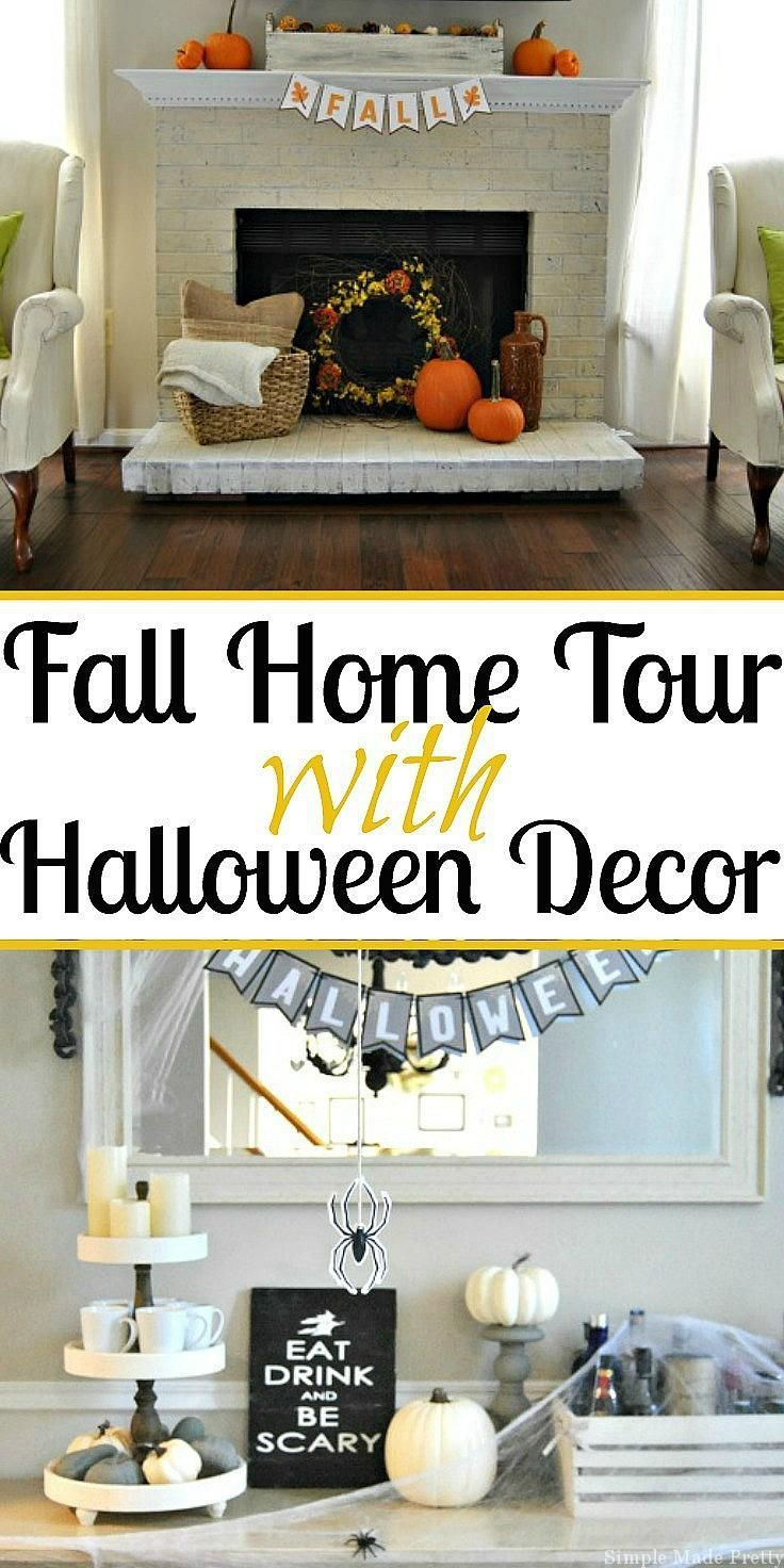 diy fall home decor ideas with halloween decorations | diy home