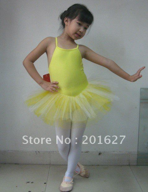 13cff6560dc61 Girls Ballet Costume Tutu Skirt Kids Party Leotards Dance Dress SZ 5 8Y 5  colors-in Dresses from Apparel & Accessories on Aliexpress.com