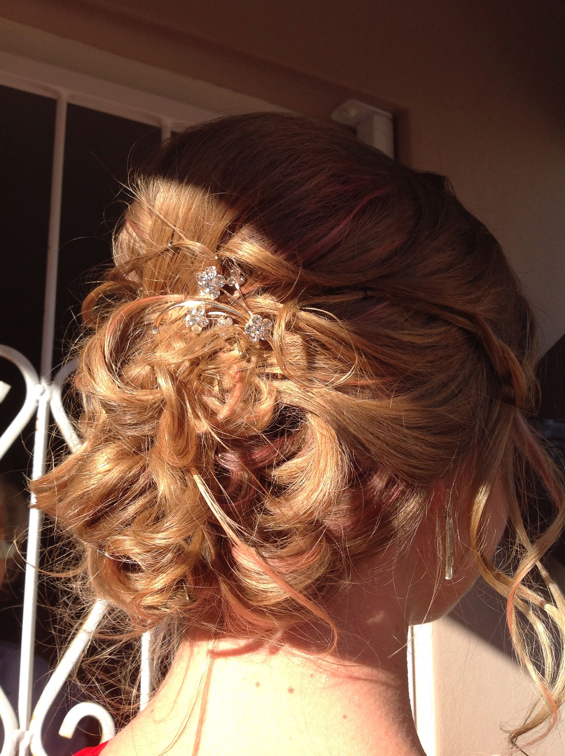 Matric dance hair