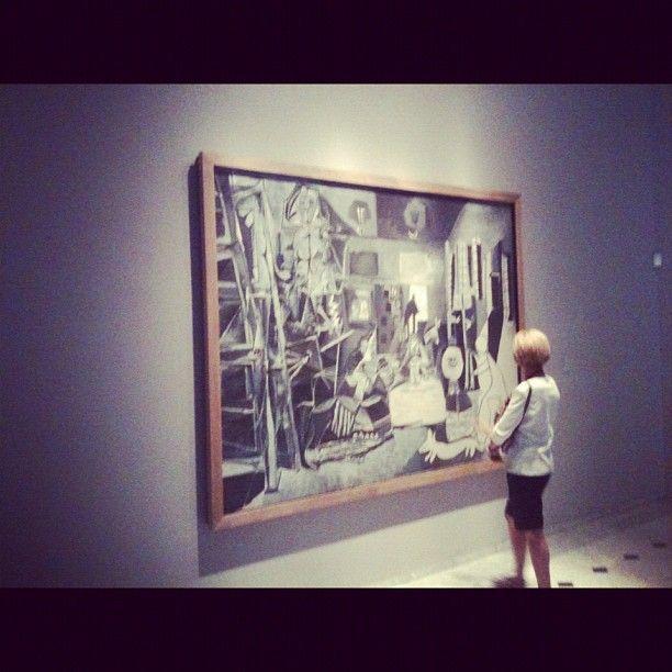 Visite Museu Picasso in Barcelona, Cataluña. He visto fotos de pablo picasso. Me encantó ver toda la obra de arte.