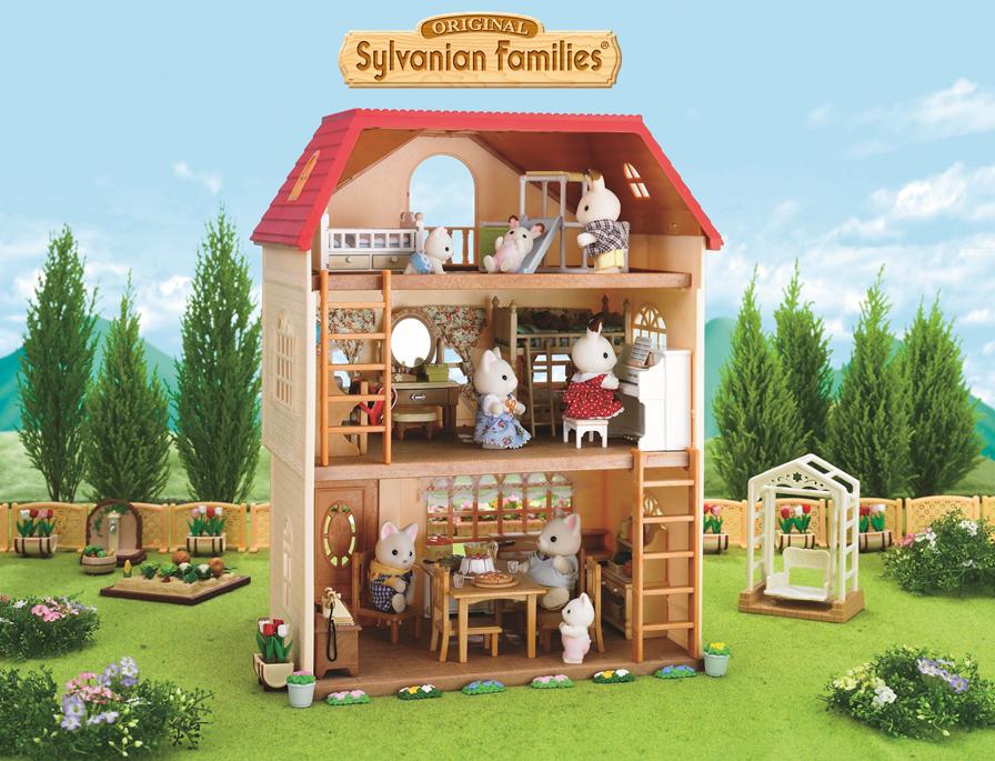 La Maison Aux 3 Histoires Pour S Inventer De Belles Histoires Sylvanianfamilies Maison Sylvanian Families House Sylvanian Families Sylvania Families