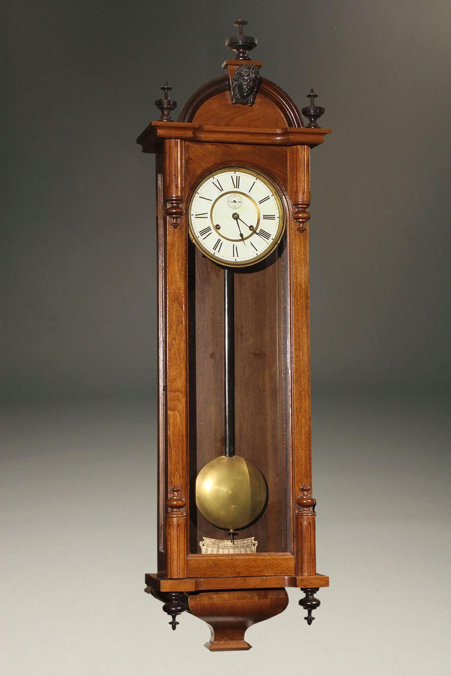 Ansonia Wall Clock Vintage Wall Clock Antique Wall Clock Clock