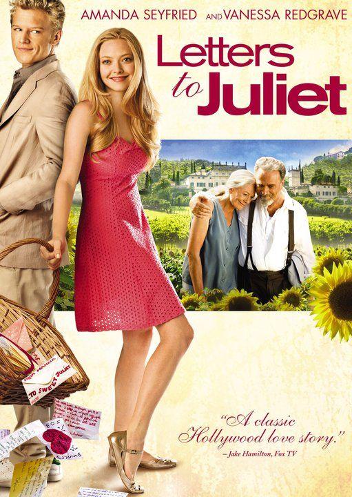 Love This Movie Cartas A Julieta Amanda Seyfried Peliculas Cine