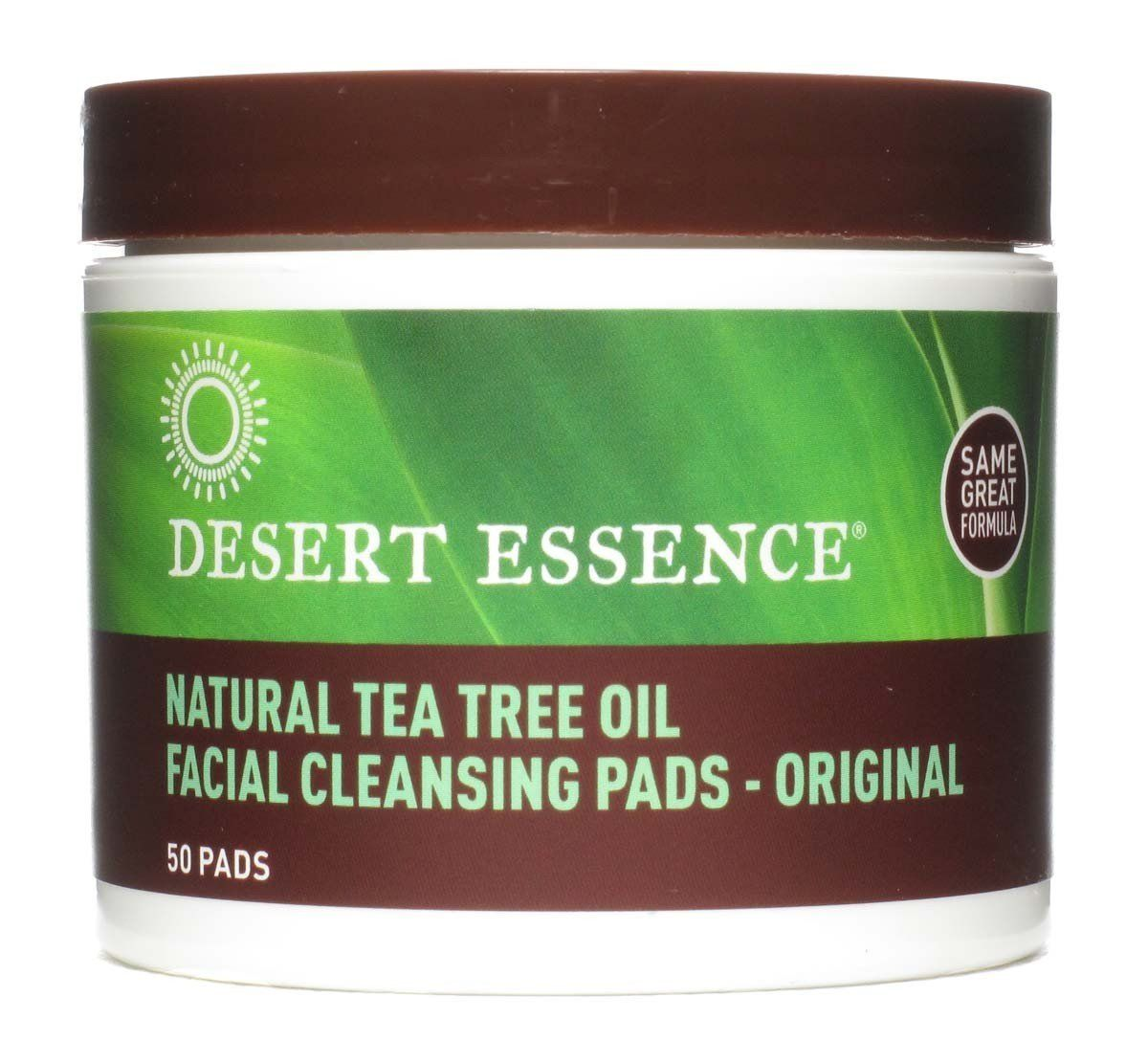 6 Pack - Desert Essence Facial Cleansing Pads, Natural Tea Tree Oil 50 ea Payot - Perform Lift Perform Sculpt Masque - For Mature Skins -50ml/1.6oz