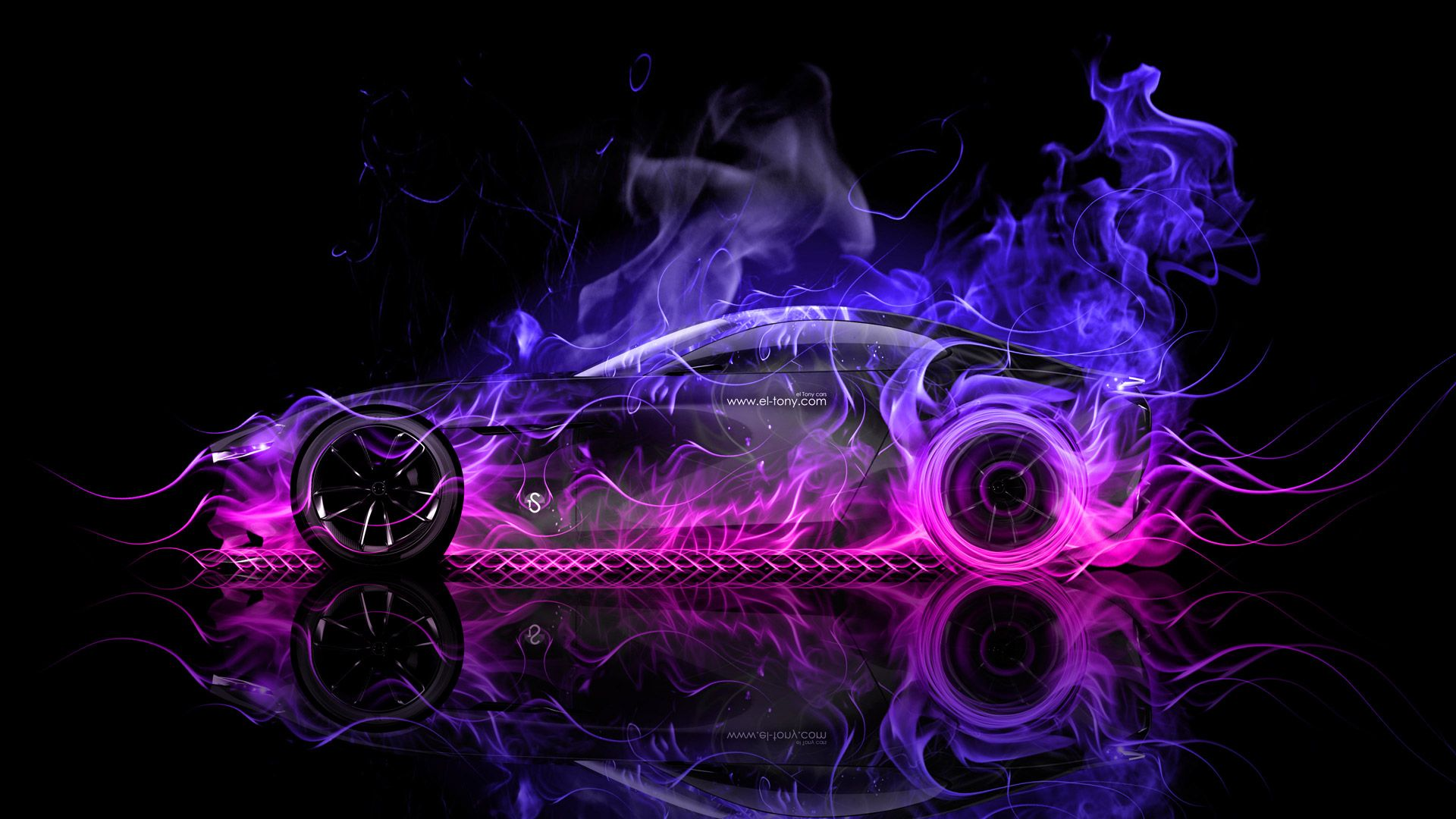 Superieur Mazda RX Vision Concept Side Super Fire Abstract