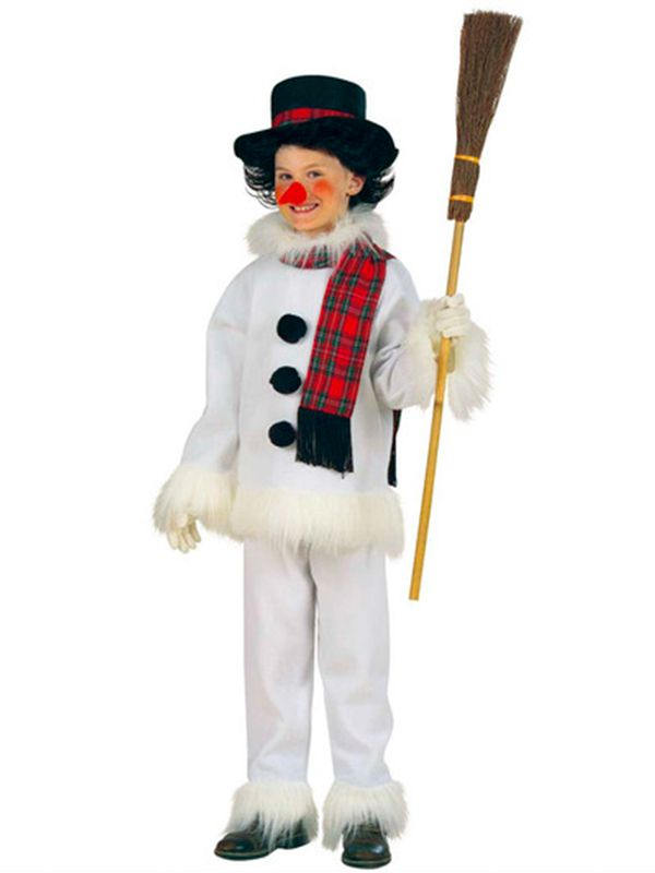 Amazing Snowman Costume (Coat Pants Hat Scarf Nose) Childrens Winter Is Coming.  Transform Your Child Into A Cool Snowman Costume. This Costume Includes A  Beautiful ...