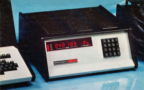 Detail from 1977 Advertisement for the Heathkit H8 8080 Personal Computer