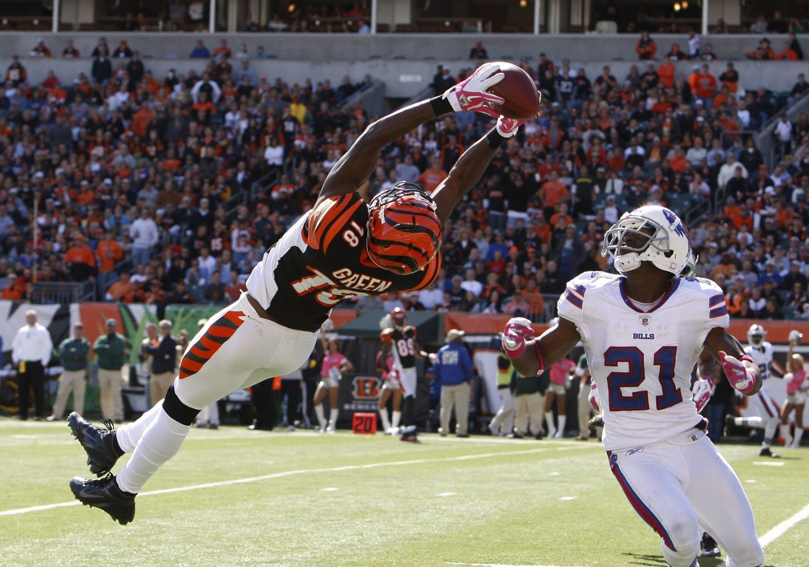 all in a day's work for A.J. Green Nfl betting, Sports