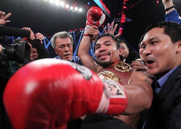Manny Pacquiao batters Brandon Rios, dedicates effort to Typhoon Haiyan victims - Yahoo Sports Philippines