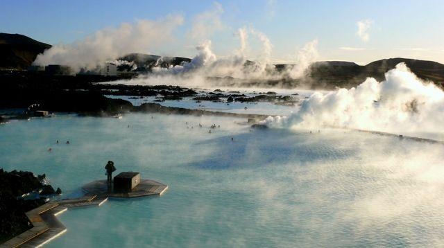 Blue Lagoon Hotspring, Iceland