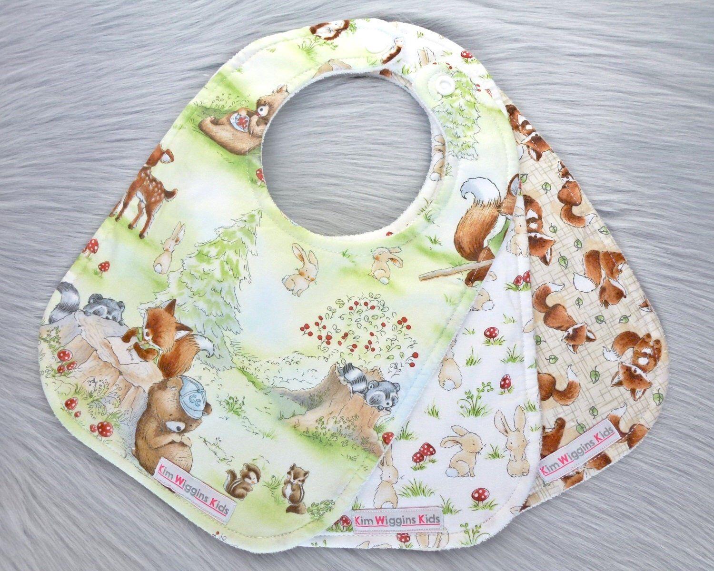 New Mum gift Baby Shower Gift Baby Burp Cloths Set