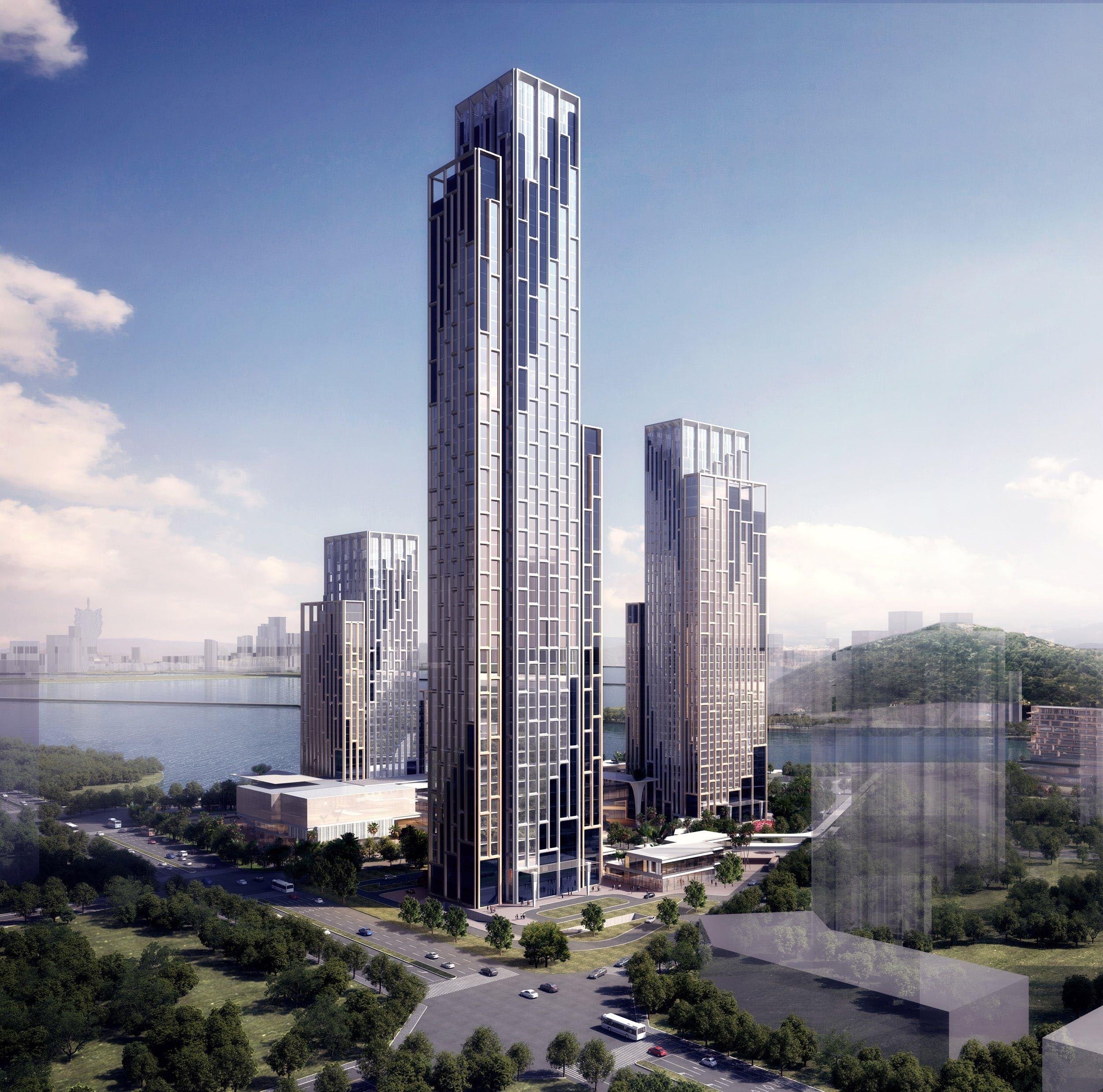10 DESIGN | Zhuhai Huafa Plaza | 10 Design | Archinect