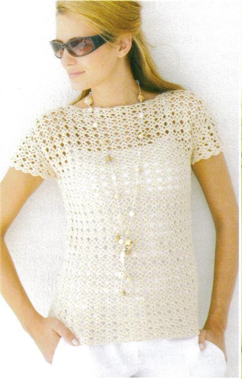 Crochet Blouse Pattern Free Google Search Crochet Blouse