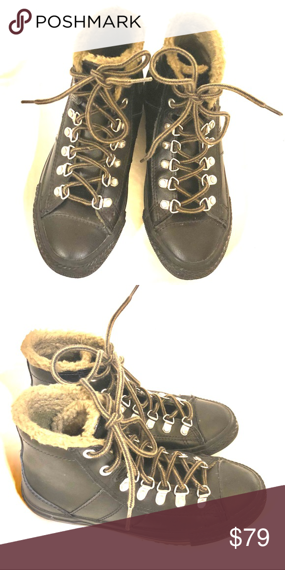 3192ef270a0eda CONVERSE winter sneakers. 50% off! New. Size 3. Check my other listings! Converse  Shoes Sneakers