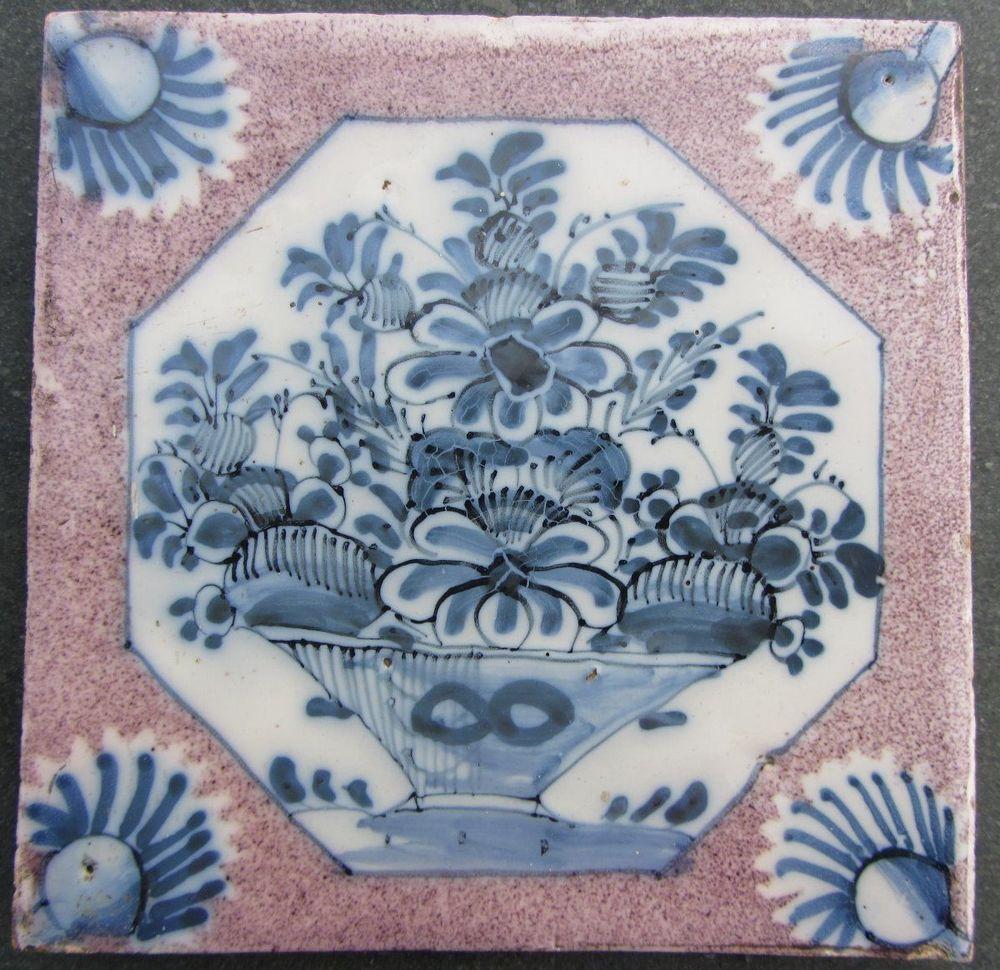 Antique english delft tile bristol 1725 50 very good condition antique english delft tile bristol very good condition doublecrazyfo Image collections