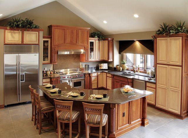 Kitchen Design With Bar 19 elegant l-shaped kitchen design ideas | breakfast bars