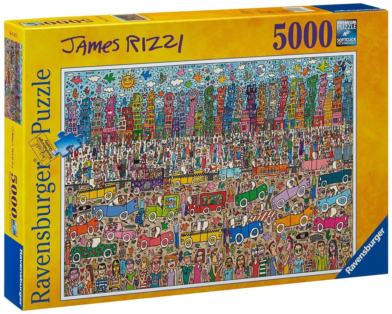 ravensburger 17427 james rizzi puzzle 5000 pezzi amazon it