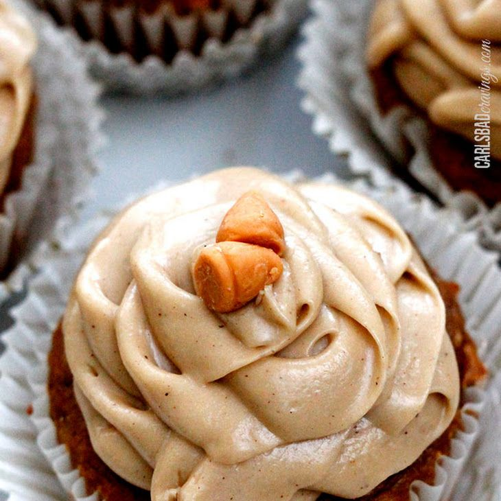 Vanilla Cake Mix Pumpkin Puree: Pumpkin Spice Cupcakes With Butterscotch Frosting Recipe