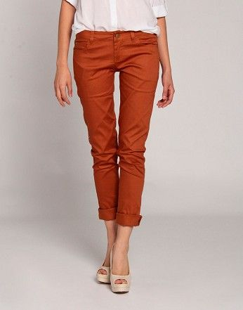 Slack Jeans in rust